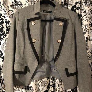 Gray&Black Blazer
